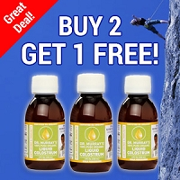Buy 2 Get 1 Free - Liquid Colostrum