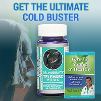 Ultimate Cold Buster Special - Telemorx Plus and Forever Young & Healthy