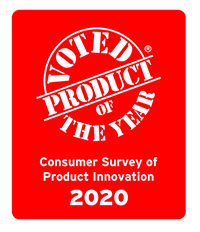 2020 Award Winning Product - voted 2020 Product of the Year in a survey of 40,000 people by Kantar.