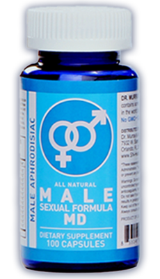 Dr. Murray's Male Sexual Formula MD helps men have more and better sex.