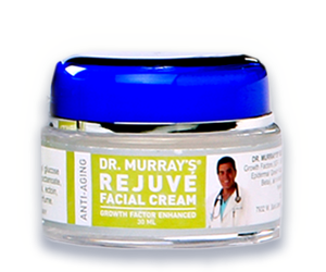 Dr. Murray's Rejuvé Facial Cream 30ml helps repair damaged facial skin for a more youthful look.