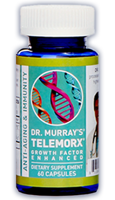 Dr. Murray's Telemorx capsules to boost your energy and improve your health and well-being.