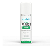 cbdMD CBD Freeze Roller - 3 oz- 750mg