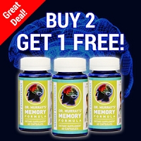 Buy 2 Get 1 Free - Memory Enhancement Formula