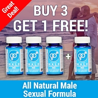 Buy 3 Get 1 Free - All Natural Male Sexual Formula MD