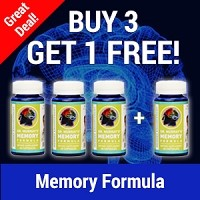 Buy 3 Get 1 Free - Memory Enhancement Formula